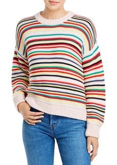 525 America Ribbed Stripe Sweater