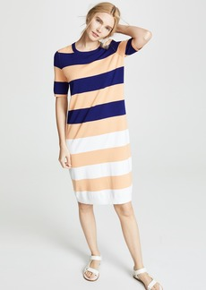 525 America Striped Midi Dress