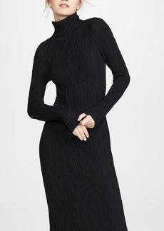 575 Denim 525 Turtleneck Sweater Dress