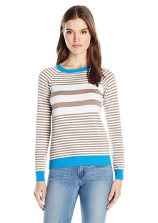 525 America Women's Crew Neck Stripe Sweater  S