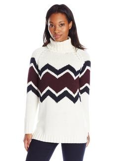 525 America Women's Hand-Knit Patterned Sweater