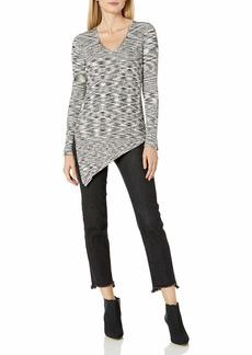 525 America Women's Space Dye V Tie Side Sweater  M