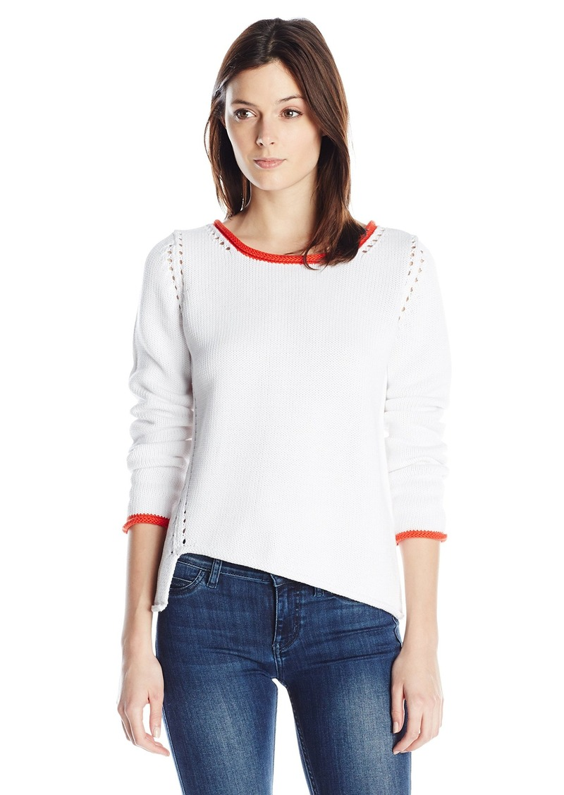 525 America Women's Tipped Cotton Pullover