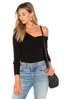 525 America Asymmetric One Shoulder Sweater