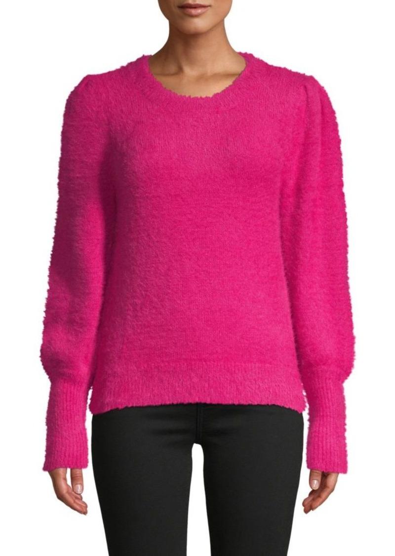 525 America Bishop-Sleeve Plush Sweater
