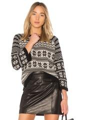 525 America Fair Isle Pattern Sweater