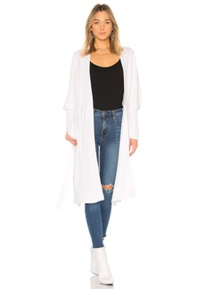 525 America Long Wrap Cardigan