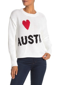 525 America Love Cities Knit Crew Neck Sweater