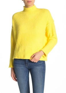 525 America Mock Neck Textured Sweater