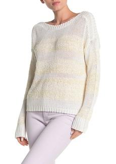525 America Novelty Eyelash Knit Pullover