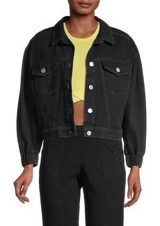 525 America Puffed-Sleeve Denim Jacket
