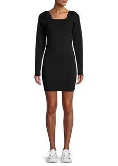 525 America Puffed-Sleeve Mini Dress