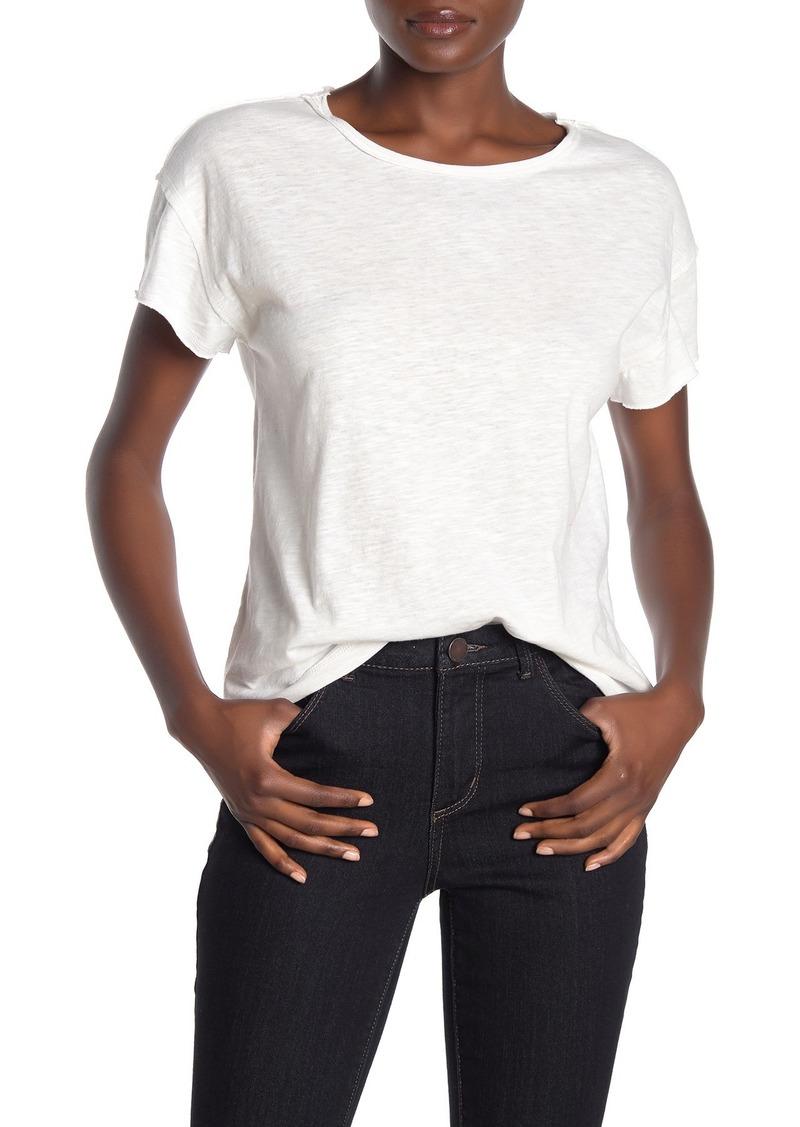 525 America Raw Cut Crew Neck Short Sleeve T-Shirt
