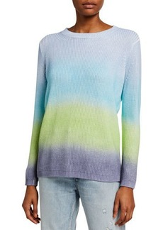 525 America Spray Dye Cotton Shaker Sweater