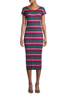 525 America Stripe Bodycon Dress