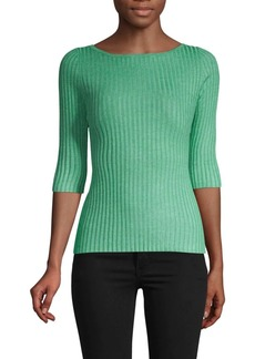 525 America Three-Quarter Sleeve Ribbed Pullover