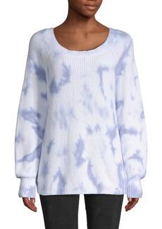 525 America Tie-Dye Rib Knit Sweater