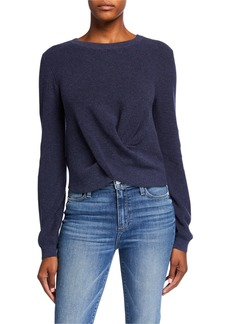 525 America Twist Front Pullover Sweater