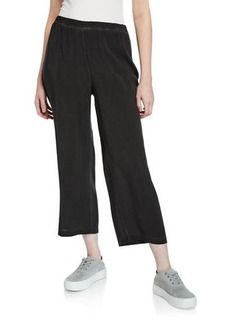 525 America Vintage Wash Straight-Leg Cropped Sweatpants