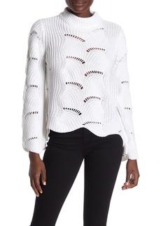 525 America Wave Stitch Knit Pullover