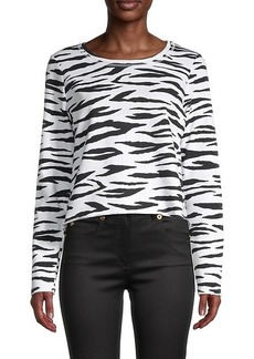 525 America Zebra-Print Long-Sleeve T-Shirt