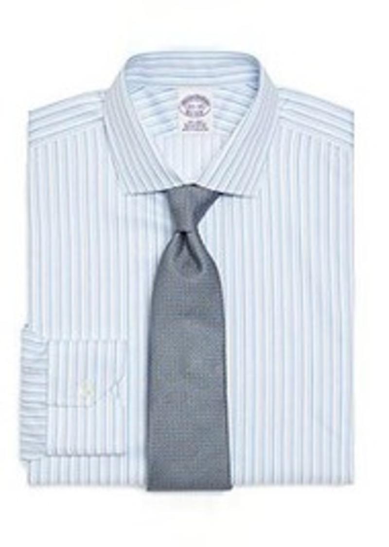 Brooks brothers supima cotton non iron regular fit triple for Supima cotton dress shirts