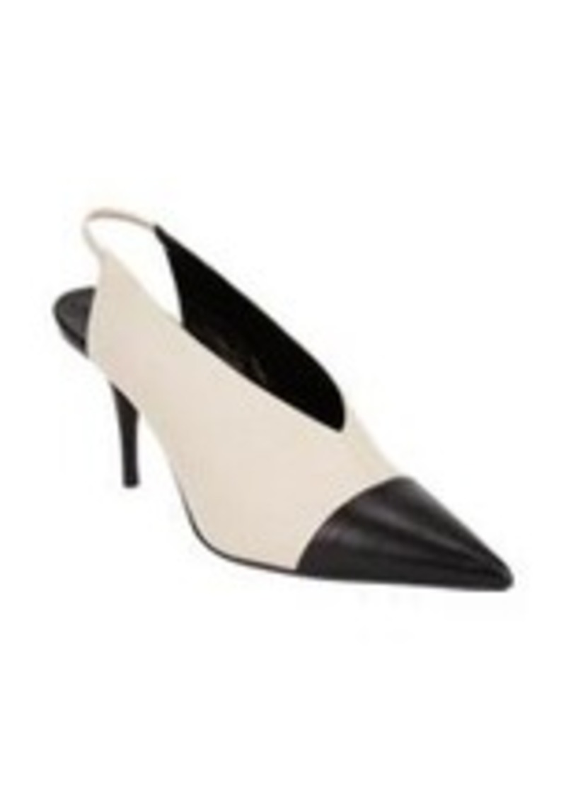 Narciso Rodriguez Bi-Color Cap-Toe Slingback Pumps