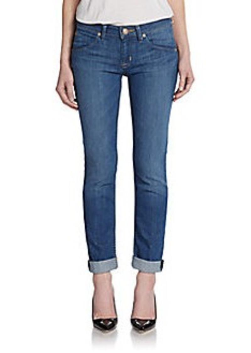 Hudson Jeans Hudson Straight Flood-Cuff Jeans