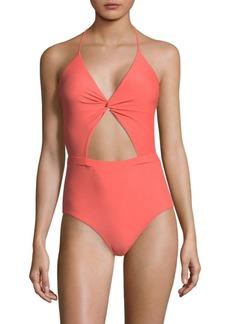6 Shore Road Divine One-Piece Cutout Swimsuit