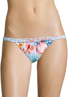 6 Shore Road by Pooja Domingo Floral Printed Bikini Bottom