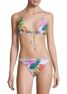 6 Shore Road By Pooja Domingo Printed Bikini Top