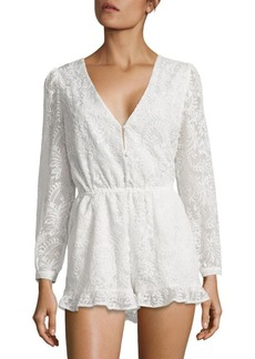6 Shore Road by Pooja Earlybird Embroidered Short Cover-Up