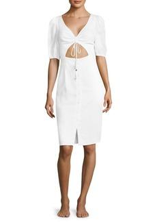 6 Shore Road Palmetto Linen Dress
