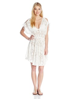 6 Shore Road by Pooja Women's Board Walk Lace Cover Up Dress