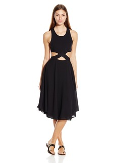 6 Shore Road by Pooja Women's Diver's Midi Cover up Dress