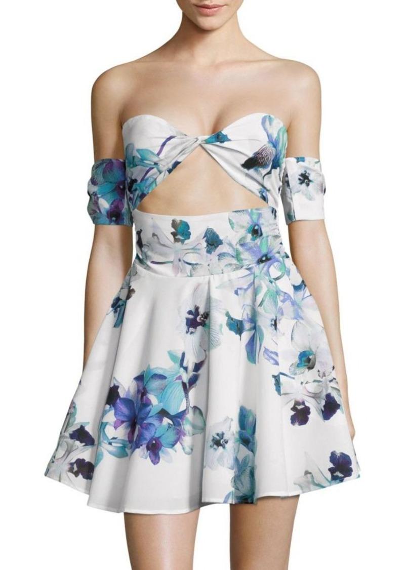 6 Shore Road Daybreak Off-The-Shoulder Flared Dress