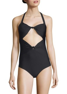 6 Shore Road One-Piece Knotted Swimsuit