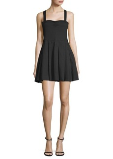 6 Shore Road Pleated Mini Dress