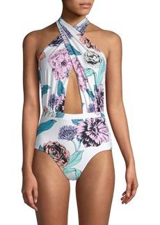 6 Shore Road Cabana One-Piece Floral Swimsuit