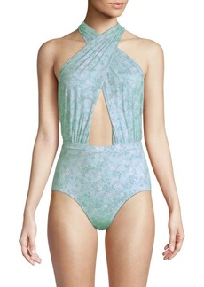 6 Shore Road Cabana Printed One-Piece Swimsuit