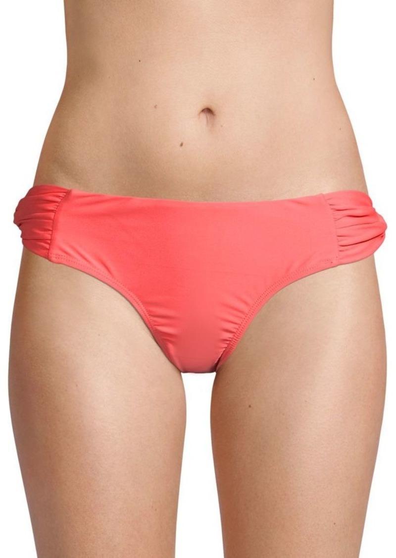 6 Shore Road Gathered Bikini Bottom