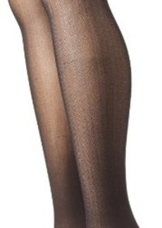 Betsey Johnson Women's 2 Pair Pack Herringbone Tights  Small/Medium