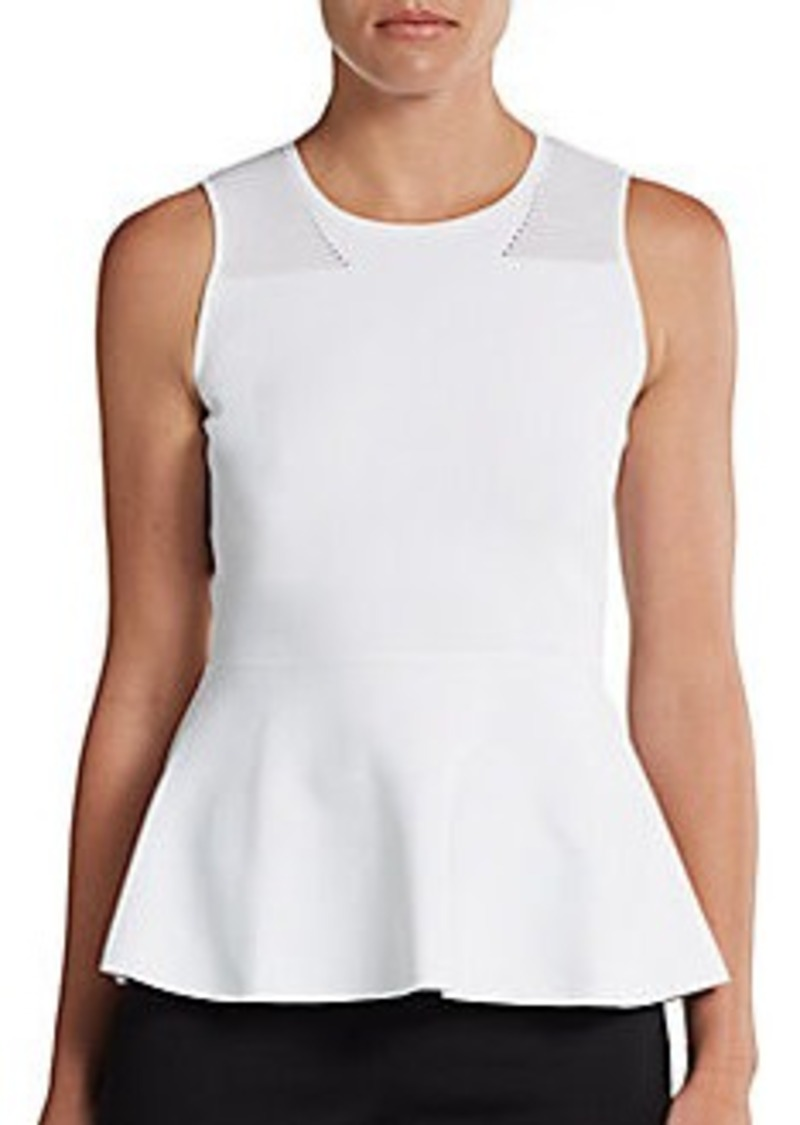 Calvin Klein Collection Laurel Peplum Top