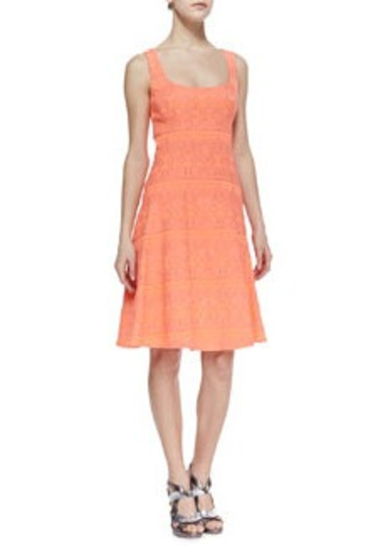 Nanette Lepore Synthesizer Pattern-Stripe Dress   Synthesizer Pattern-Stripe Dress