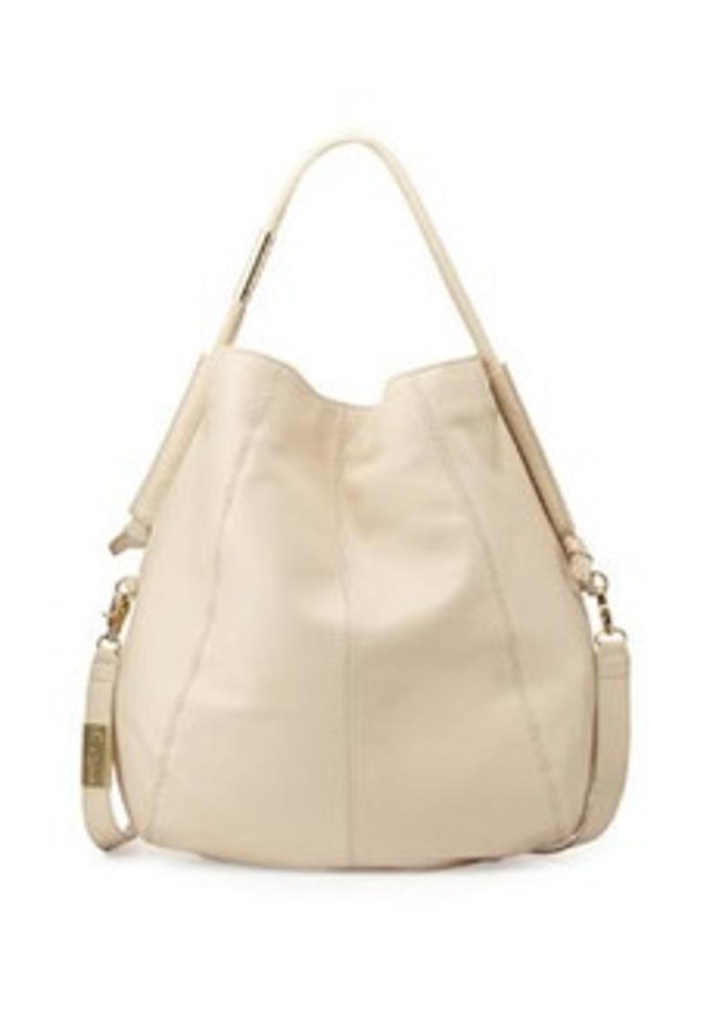 Foley + Corinna Southside Leather Hobo Bag, Ecru