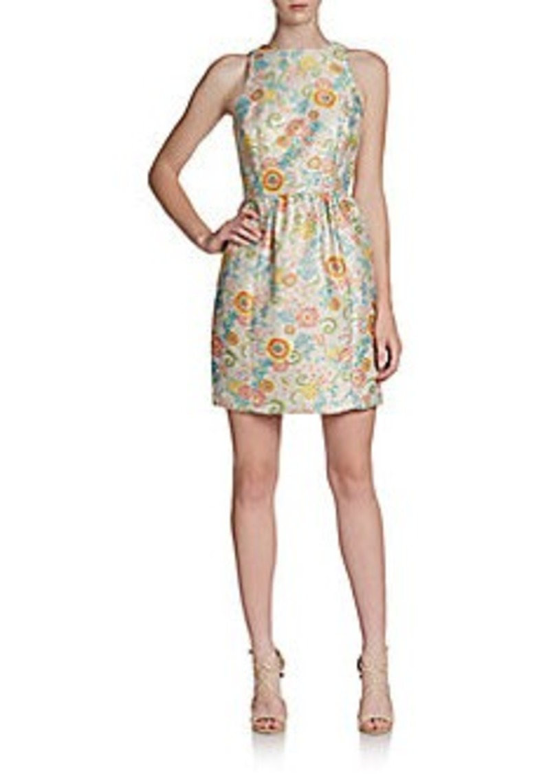 Cynthia Steffe Ashlynn Floral Fit-And-Flare Dress