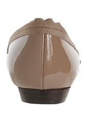 Lanvin Grosgrain-Trimmed Pointed Toe Flat