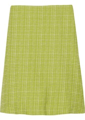 Marni Printed cotton-blend skirt