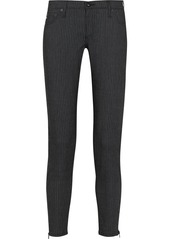 AG Adriano Goldschmied AG Jeans The Legging Ankle Zip mid-rise skinny jeans