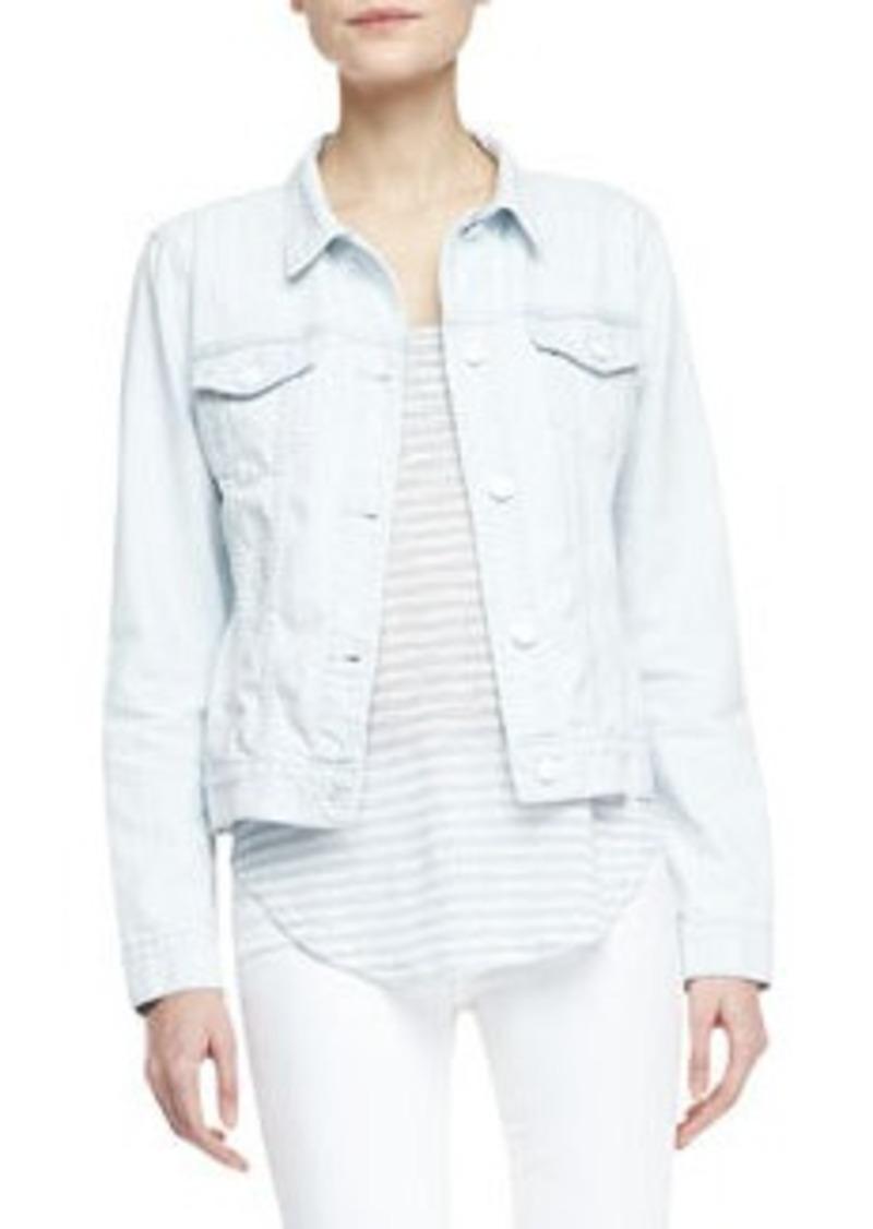 J Brand Classic Light-Wash Jean Jacket   Classic Light-Wash Jean Jacket